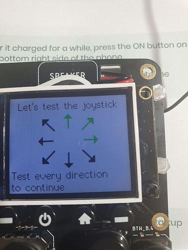 joystick test
