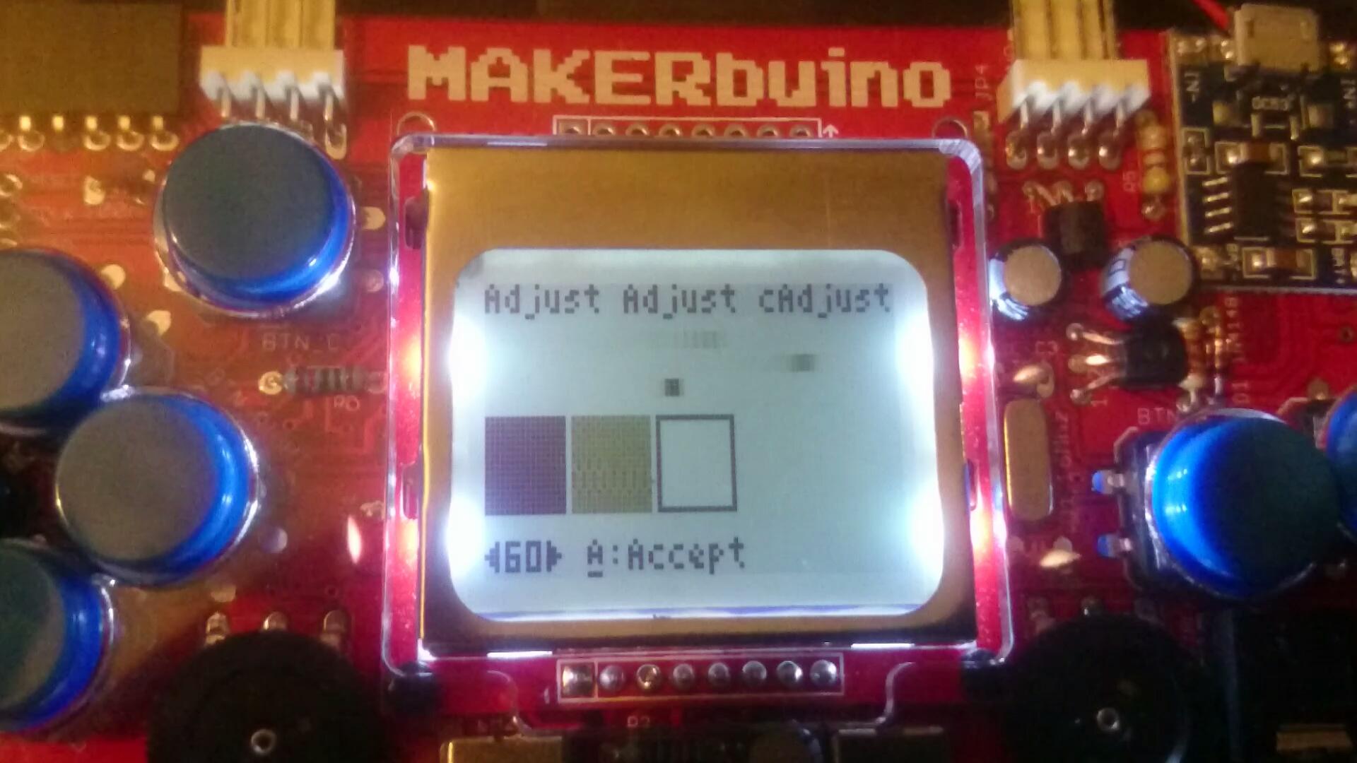Screen tearing / flickering - Support - MAKERbuino community